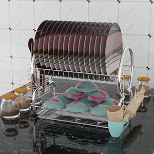 Space Saver Dish Rack