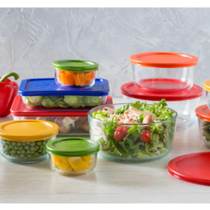 Pyrex Glass Storage Set1