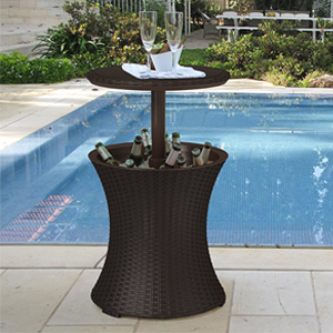 Rattan Style Table